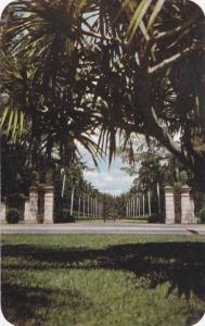 Famous Entrance to Hialeah Race Course's New Club House,Miami, Florida,40-60s