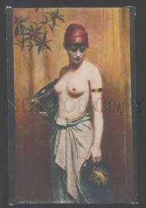 111901 Greek water carrier BELLE by NONNENBRUCH vintage tinted