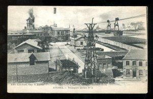 4702 - AUCHEL France P-de-C [62] Coal Mine. Air Transport