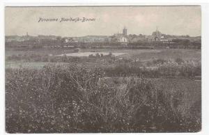 Panorama Noordwijk Binnen South Holland Netherlands 1910c postcard