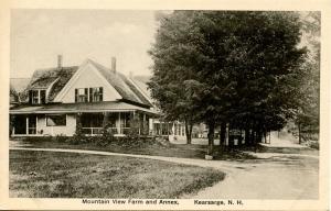 NH - Kearsarge. Mountain View Farm & Annex (Hotel)