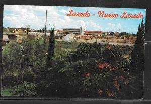 Mexico, Nuevo Laredo, customs building, unused