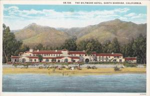 SANTA BARBARA, California, 1900-1910's; The Biltmore Hotel