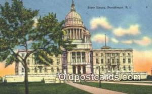 Providence, Rhode Island, RI State Capital, Capitals Postcard Post Card USA  ...