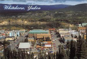 Canada Main Street and the City Center of Yukon's Capital Whitehorse