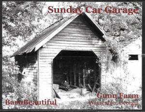 Georgia, Warrenton, Gunn Farm, Car Garage, unused