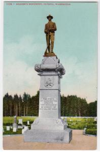 Soldiers Monument, Olympia WA