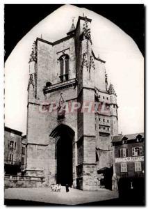 Villefranche de Rouergue Postcard Modern Collegiate Tower Notre Dame