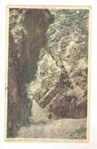 Hikers @ Devil's Corkscrew on Bright Angel Trail,Grand Canyon,AZ / Arizona 19...