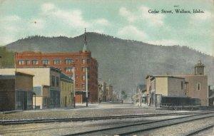 WALLACE , Idaho , 00-10s ; Cedar Street