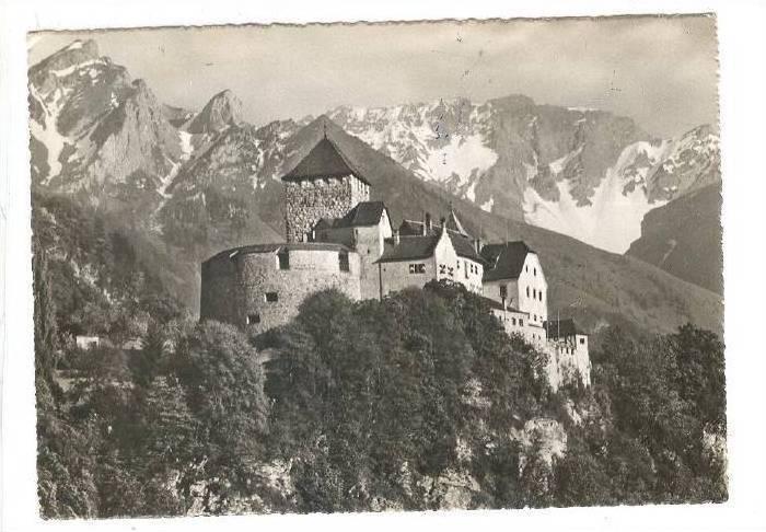 Scene, Schloss Vaduz, F. Liechtenstein, 1920-1940s