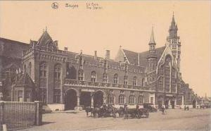 Belgium Brussels La Gare The Station