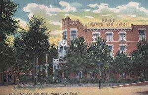 ZEIST (Utrecht), Netherlands, 1900-10s ; Slollaan met Hotel Wapen van Zeist