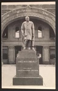 Statue of James Whitcomb Riley Greenfield Indiana