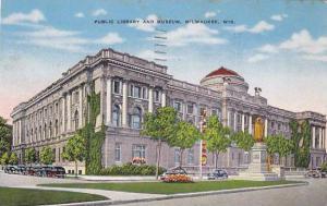 Public Library & Museum, Milwaukee, Wisconsin, PU-1948