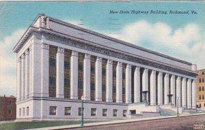 Virginia Richmond New State Highway Building 1957