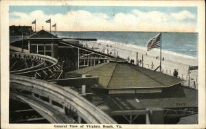 VIRGINIA BEACH VA General View c1920 Postcard