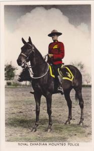 RP, Royal Canadian Mounted Police, On A Horse, Canada, 1920-1940s