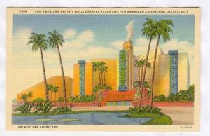 Greater Texas & Pan American Exposition, Dallas, Texas, 1937; Exhibit Hall