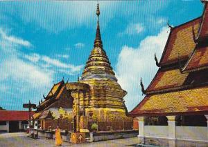 Thailand Chiengmai Phra Tath Doi Suthep Temple