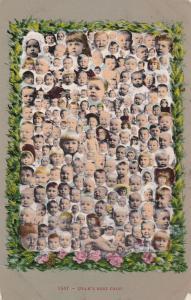 Collage of baby faces, Utah's Best Crop, PU-1918