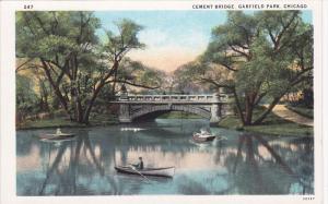 Cement Bridge, Garfield Park, Chicago, Illinois, 10-20s