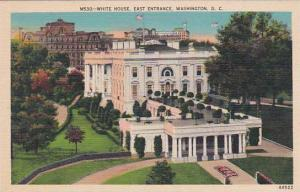 Washington DC White House East Entrance