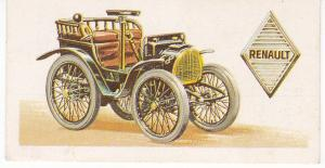 Trade Card Brooke Bond History of the Motor Car No 4