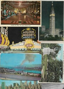 USA New York City, Las Vegas Nevada and more Postcard Lot of 28 01.02