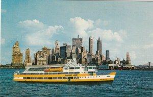 NEW YORK CITY , 50-60s ; Excursion Liner S.S. BAY BELLE