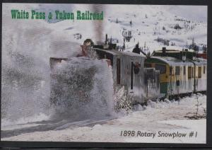 White Pass & Yukon RR  1898 Rotary Snowplow unused