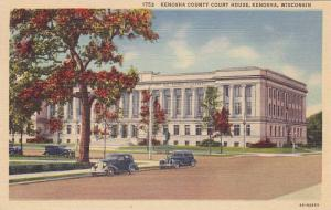Kenosha County Court House, Kenosha, Wisconsin, 1930-1940s
