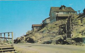 FLIN FLON , Manitoba , Canada , PU-1965; Town built on rock