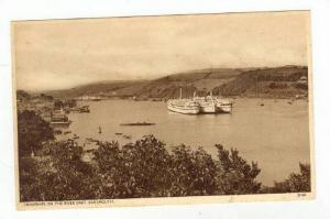 Troopships on the River Dart. Dartmouth, UK 10-20s