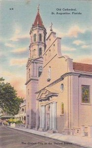 Florida Saint Augustine Old Cathedral The Oldest City In The United States Al...