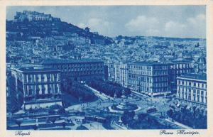 Napoli, Piazza Municipio, Campania, Italy, 10-20s