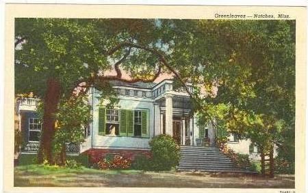 Greenleaves Residence, Natchez, Mississippi, 30-40s