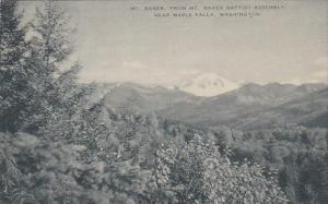 Baker From Mount Baker Baptist Assembly Maple Falls Washington 1963