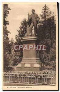 Old Postcard Colmar Bartholdi monument