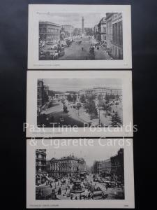 Old PC London: Collection of Three Postcards including Waterloo Place ALL SHOWN