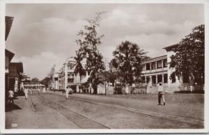Street Scene Lome Togo Africa Unused Vintage Postcard E17