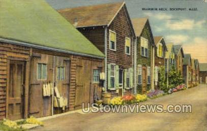 Bearskin Neck Rockport MA 1941
