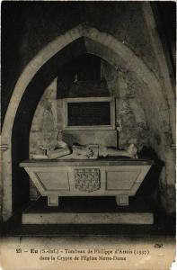 CPA EU - Tombeau de Philippe d'Artois dans la Crypte de l'Église (347791)