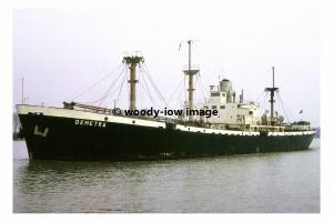 mc4531 - Liberian Liberty Cargo Ship - Demetra , built 1944 - photograph 6x4