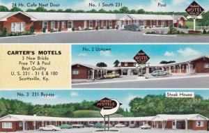 Kentucky Scottsville Carter's Motels sk2213