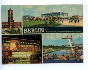 241503 GERMANY BERLIN cinema International 1965 y RPPC to USSR