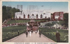 St. Joseph's Shrine, MONTREAL, Quebec, Canada, PU-1929
