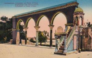 JERUSALEM , Israel , 1900-10s ; Colonnade et Chaire d'Omar