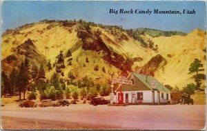 Sevier UT Big Rock Candy Mountain Utah Cafe Gas Station Postcard G97
