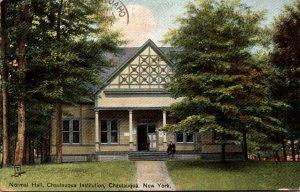 Tucks New York Chautauqua Norman Hall Chautauqua Institution 1908